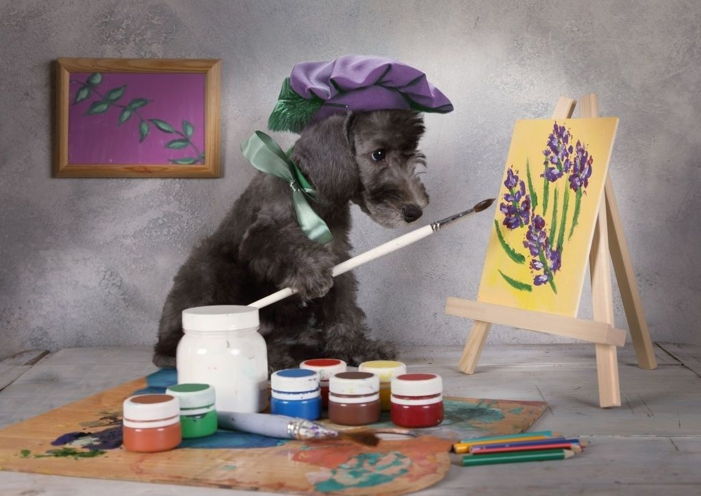 Why Paint the Memories of Dogs on Portrait?